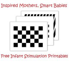 High contrast images to  promote faster brain growth and optimal visual development for your baby.