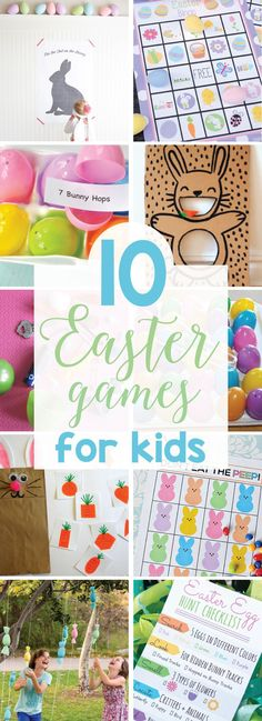 10 Easter Games for Kids on Love the Day