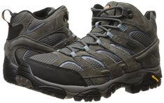 Merrell Women's Moab 2 Mid Waterproof Hiking Boot -- See this great product. (This is an affiliate link) #HikingShoes