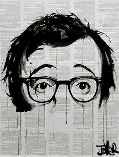 "Saatchi Art Artist Loui Jover; Drawing, ""what's new pussycat?"" #art"