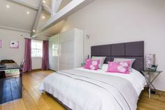 The master bedroom in our #Yorkshirepropertyoftheweek is light and airy, with plenty of room