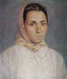 Antonio Lopez Garcia, María ( Retrarto) Spanish painter and sculptor known for his realistic style.