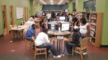 "A free series of webinars on ""Teens and the Future of Libraries"" Partnered with YALSA the webinars take a look at ""at the roles social media and teens play in the future of public and school libraries."""