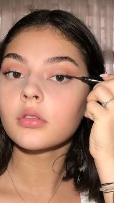 Edgy Makeup, Glamour Makeup, Eye Makeup Art, Contour Makeup, Simple Makeup, Skin Makeup, Makeup Set, Natural Makeup, Makeup Tutorial Eyeliner