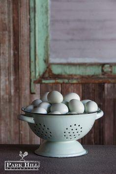 Love and eggs...best when fresh. #ParkHillCollection #fresheggs