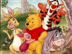 Adorable Winnie the Pooh art