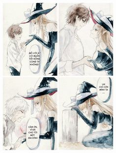 Read Witch and baby from the story Xả ảnh anime của ta ? Anime Witch, Me Me Me Anime, Anime Guys, Manga Art, Anime Art, Style Anime, Witch Art, Cute Anime Couples, Manga Games
