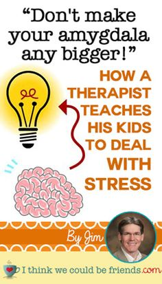 """I don't really ever think of teaching my kids to deal with stress...This is REALLY good and I love knowing the """"why"""" behind things \\ Pin now, read later when the school year gets crazy!  