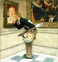 American Chronicles: The Art of Norman Rockwell: The Art Critic, 1955