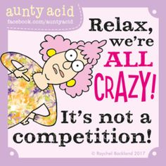 Aunty Acid for 6/25/2017