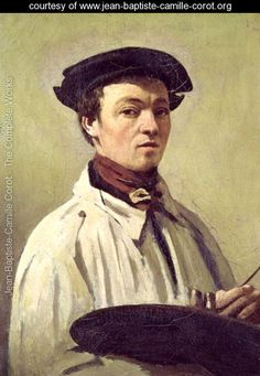 Self Portrait- Jean-Baptiste-Camille Corot