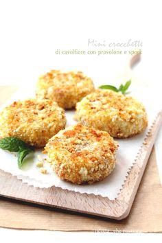 Mini crocchette di cavolfiore ricotta...che passione: vegetariane