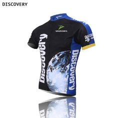 New Blue Discovery CyclingJersey Riding Bike Clothing Tops ciclismo Sport Breathable Bicycle Shirt Short Sleeve Quick Dry S-4XL #clothing,#shoes,#jewelry,#women,#men,#hats,#watches,#belts,#fashion,#style