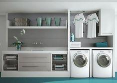 Como organizar: lavanderia