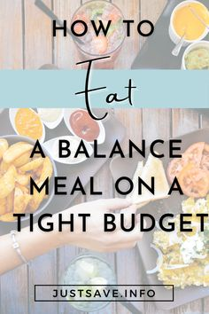HOW TO EAT A BALANCE MEAL ON A TIGHT BUDGET #eating well recipes #balancedmeal #eatwell #tightbudget #tightbudgetmeals #hoetoeatonatightbudget Healthy Foods To Eat, Healthy Recipes, Food Inc, Balanced Meals, Frozen Vegetables, Diabetic Friendly, Tight Budget, Food Waste, Best Budget