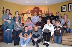 Our Family Christmas Gathering