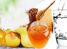 Elma Sirkesi Ilık Su ve Bal ile Zayıflama Karışımı