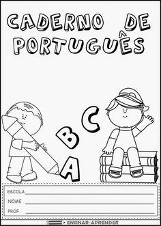 """10 CAPAS DE CADERNO PARA TODAS AS MATÉRIAS ~ """" Cantinho do Educador Infantil """"                                                                                                                                                                                 Mais"""