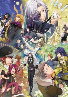 Diamond No Kuni No Alice: It's a Japanese manga based off of the original Alice in Wonderland:DDD