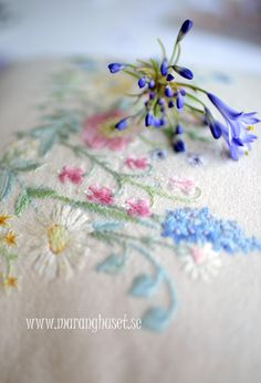 Vintage Swedish Embroidery