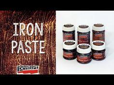 Vaspaszta // Iron Paste - YouTube Complex Art, Mixed Media Tutorials, Mixed Media Art, Mix Media, Root Beer, Diy Tutorial, Creative Art, Decoupage, Past