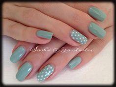 #vintage #nailart #mint #green tantastic wellingborough 01933275023