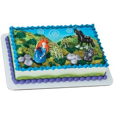 Disney Brave Birthday Cake Topper