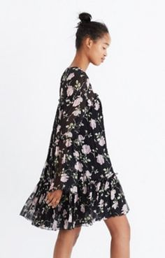 f86b6a5d0da08 Ulla Johnson™ Silk Dahlia Floral Mini Dress Madewell