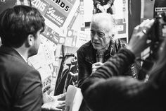 NME Awards Feb 20 2015 Jimmy Page opens up to NME's Dan Stubbs. Photo: Matt Richardson/NME