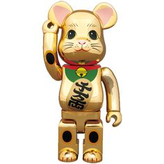 お店のディスプレイにもおすすめ!東京スカイツリー限定アイテム。(全高約28センチ) /BE@RBRICK招き猫 金メッキ400%(メディコムトイ)¥8,800- /ダニーズトイTEL: 076-214-7666/TATEMACHI SUMMER COLLECTION 2013