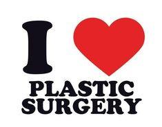Giclee Print: I Heart Plastic Surgery Art Print : 9x12in