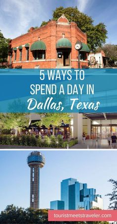 5 Ways to Spend a Day in Dallas, Texas - Tourist Meets Traveler My family and I love visiting Dallas, Texas. There are so many things to do in Dallas if you are planning a family vacation check out our tips on 5 ways to spend a day in Dallas. Texas Roadtrip, Texas Travel, Travel Usa, Dallas Travel, Texas Tourism, Solo Travel, Aloha Travel, Travel Logo, Beach Travel
