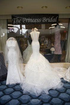 Beautiful Wedding Dresses: The Princess Bridal ~ Photo: D. Jones Photography