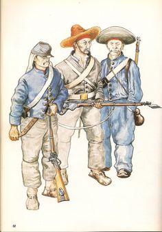 Mexican Adventure; Juarista Infantry