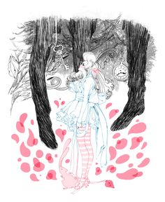 Alice in Wonderland by Marguerite Sauvage