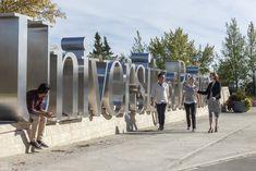 university gateway signage - Google Search