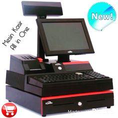 Mesin Kasir all in one Desain elegant dan praktis, Ga butuh space khusus. Tinggal taruh diatas meja kasir langsung on. lengkap dengan software kasir, Laci kasir, costumer display dan printer kasir. Promo untuk 10 pemesan pertama. Order Call  Call / WA : 082141353535, 082141757575 Pin BBM : 5224BA9D, 56F88081 Line : Mesinkasir site : http://mesinkasir.net #mesinkasirmurah #mesinkasirallinone  #infomesinkasir #perangkatmesinkasir #jualmesinkasir #distributormesinkasir #mesinkasirjakarta