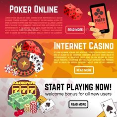 Web Casino Website Template | Your Pinterest Likes | Pinterest ...