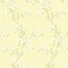 Altha Yellow Jasmine Trail Wallpaper 34468762 by Beacon House Interiors Wallpaper. We're having a big sale! Take an additional off all wallpaper and fabric with Discount Code Toile Wallpaper, Embossed Wallpaper, Wallpaper Samples, Print Wallpaper, Wallpaper Roll, Pattern Wallpaper, Wallpaper Ideas, Iphone Wallpaper, Victorian Wallpaper