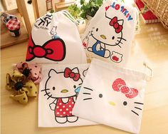 Hello Kitty non-woven bag candy box candy bag kids birthday party favor baby shower souvenirs gift bag