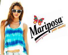 Con Colorantes Mariposa es muy sencillo decorar tu blusa favorita. Moderna y Llena de Color.