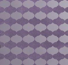 Allover Stencil Aladdin - Reusable stencil for wall decor - Stencils instead of Wallpaper   $38.95