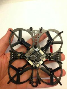 Mini Owl – Smallest Indoor Proximity FPV quadcopter frame.