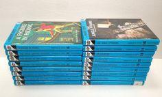 Book Lot of 17 Hardy Boys Hardcover Books Glossy Flashlight Franklin W Dixon EUC #hardyboys
