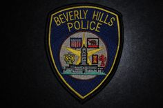 Beverly Hills Police Patch, Los Angeles County, California (Current Issue)