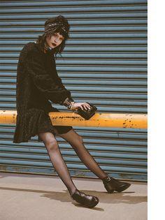 josephine skriver model10 Josephine Skriver Oozes Attitude for Harpers Bazaar Latin America by Hans Neumann