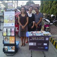 college campus public witnessing tagum city, philippines