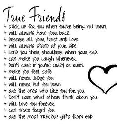 Is there true Friendship in this world?not fake Friends but honest true friendship with someone, one must have complete honesty, truth, and trust ? Life Quotes Love, Bff Quotes, Great Quotes, Quotes To Live By, Inspirational Quotes, Sister Quotes, True Best Friend Quotes, Lying Friends Quotes, Girl Friendship Quotes