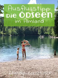 Ausflugstipp in Oberösterreich: Die Ödseen im Almland - Wandern und Baden mit Kindern  #ausflugstipp #oberösterreich #badesee #familienurlaub Where To Go, Outdoor Activities, Austria, Camping, Places, Fitness, Travel, Life, Up