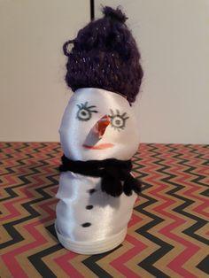 Voici un bonhomme de neige!! ⛄❄